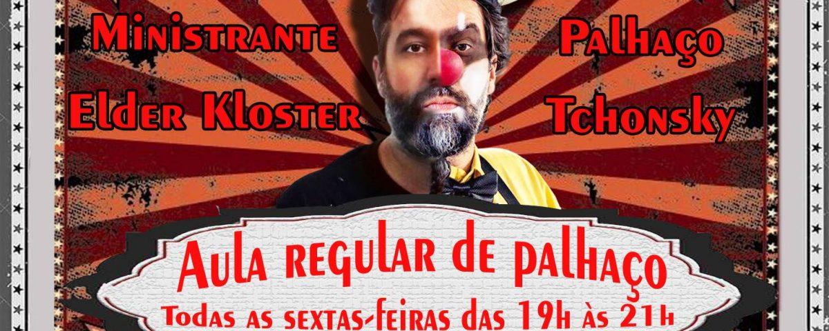 flyer curso palhaco