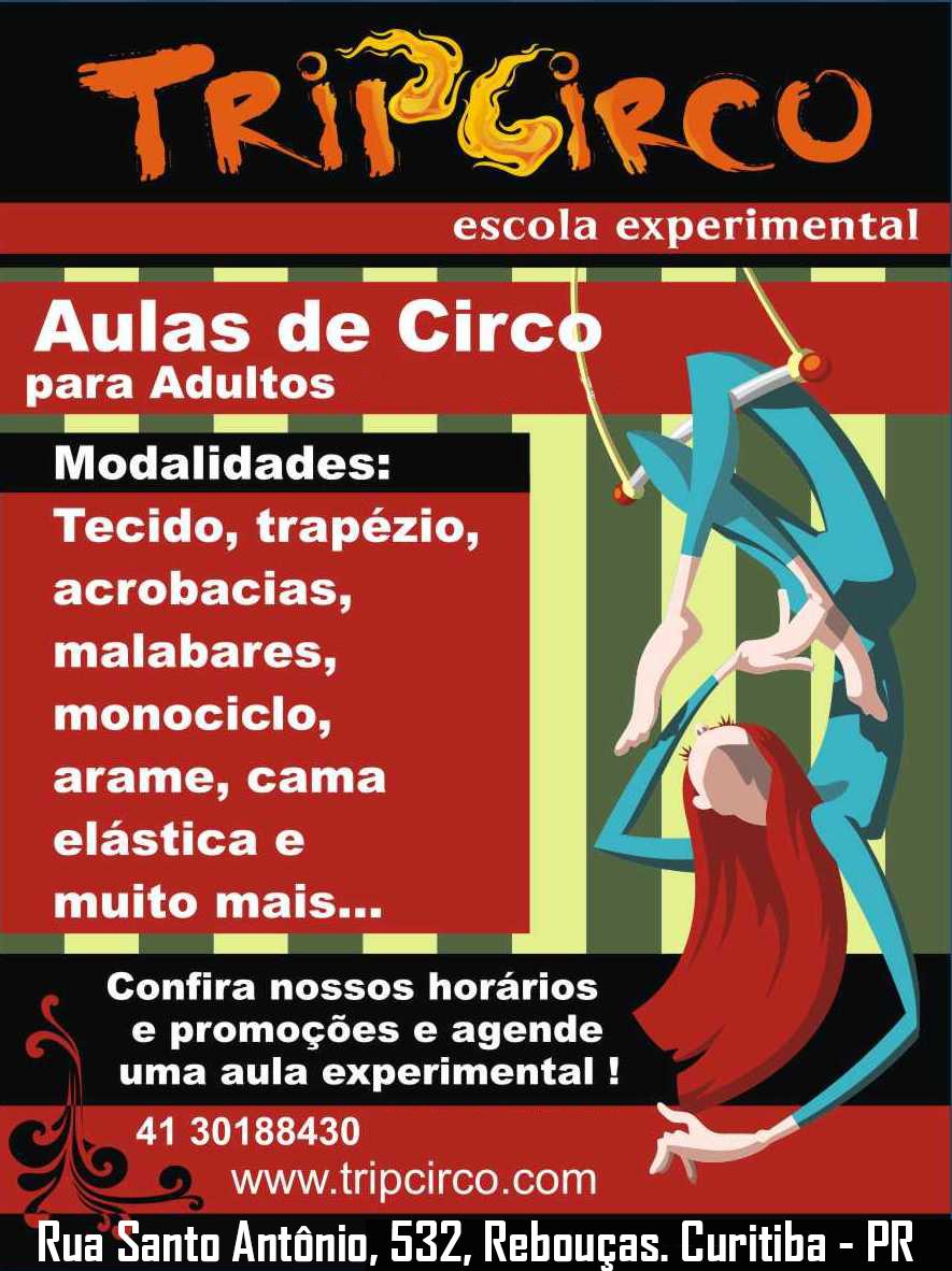 aula de circo adultos